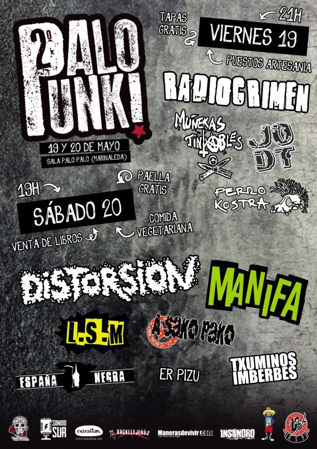 cartel por dias palo punk